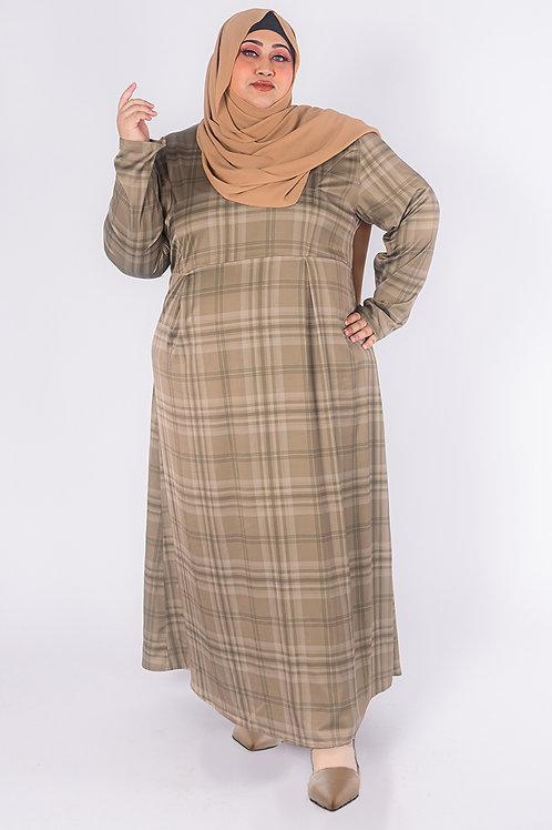 Plaids Maxi Dress