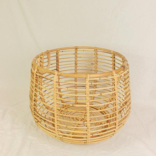 Kuno Rattan Basket in Low