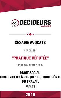 Decideurs19_Contentieux_pratique_réputée