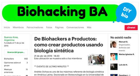 De Biohackers a Productos: como crear productos usando biología sintética