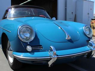 Rare Porsche in the shop for June