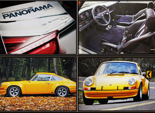 A project from the Autobahn Interiors archives... A Signal Yellow Porsche 1972 911 ST!