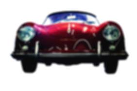 Red Porsche 356 by Lillipop Art.jpg