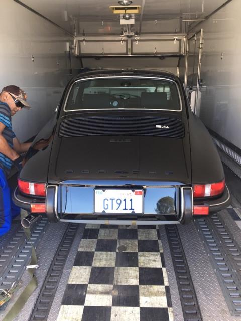 Porshe 911 s coupe Autobahn Interiors