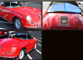 1960 Porsche 356 Roadster finished...