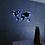 Thumbnail: Kovová mapa světa + LED světelný systém