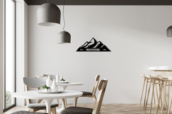 Mountains decoration for travellers