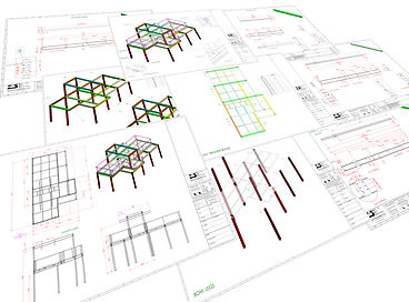 SERVICES - STRUCTURAL STEEL DRAWINGS