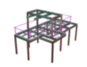 3D structural steel