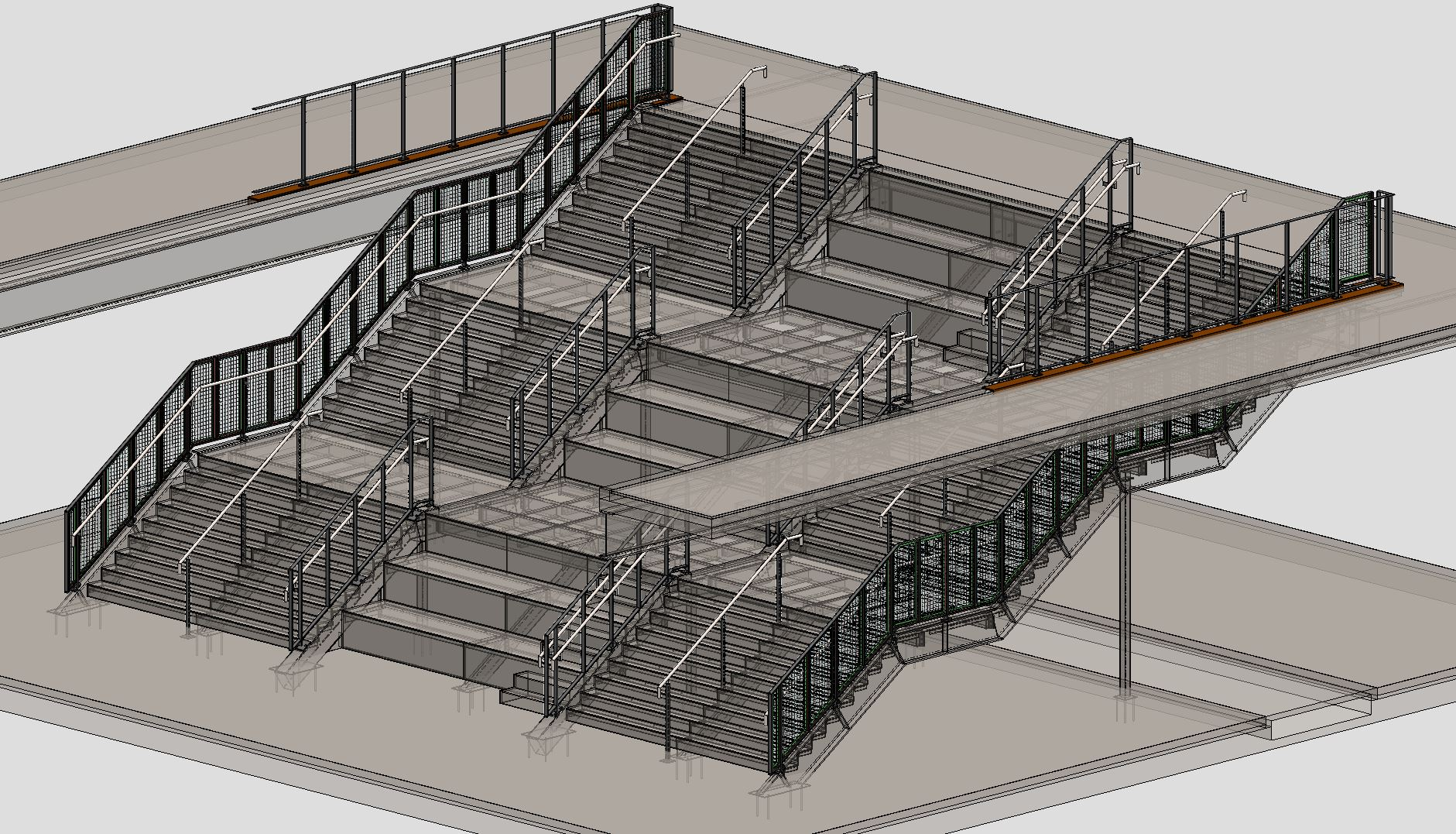 3D STRUCTURAL STAIR