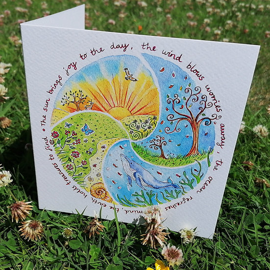 'Elements of Nature' card