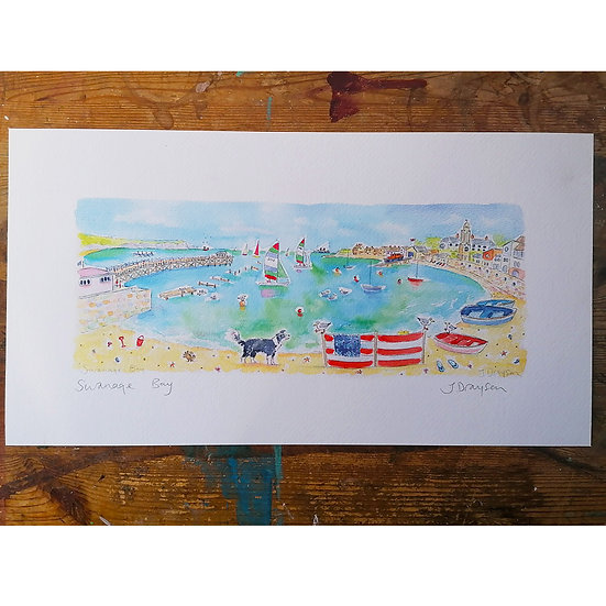 SOLD! Swanage Bay Print
