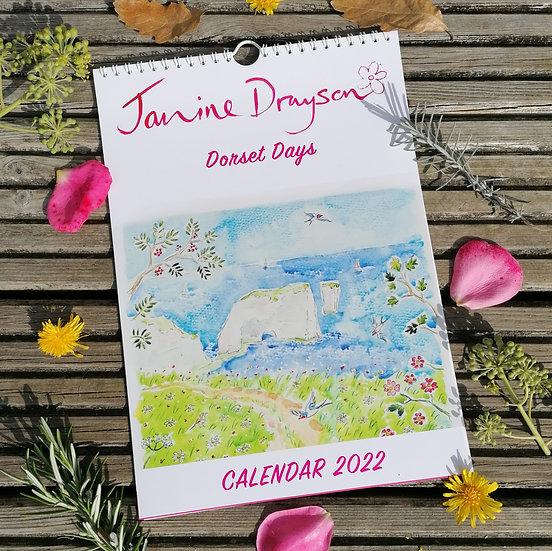 2022 Calendar, Dorset Days