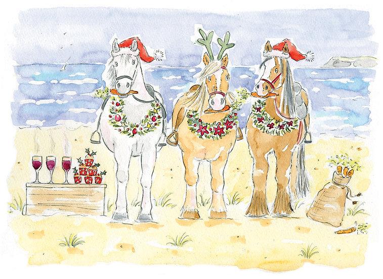 Festive Fillies Card