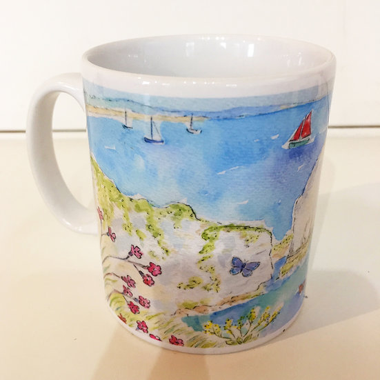 Old Harry Rocks Mug