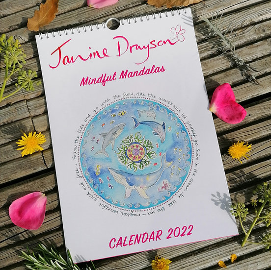 2022 Calendar, Mindful Mandalas