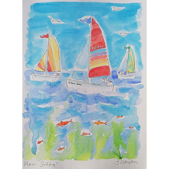 'Plain Sailing' Original