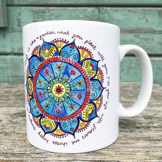 'Your Mind is Like a Garden' Mug