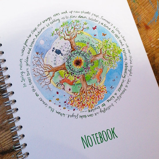 Wheel Of The Year Notebook