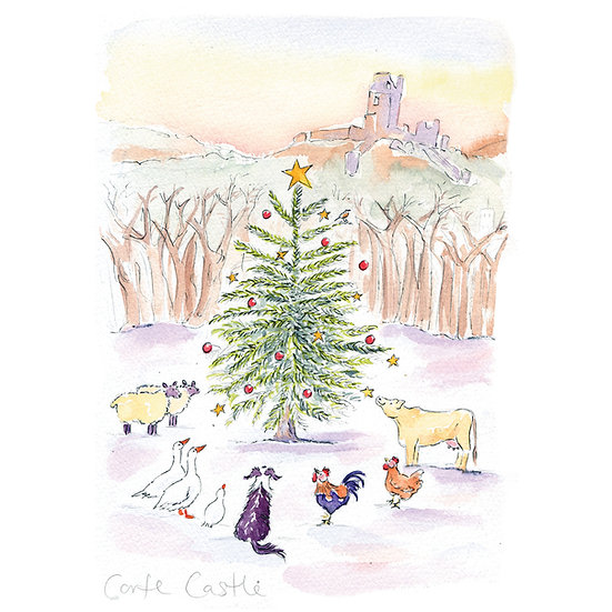 Christmas in Corfe