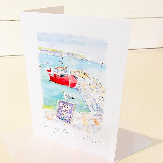 Swanage Quay Card