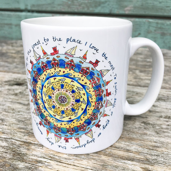 'Take me to the Coast' Mug