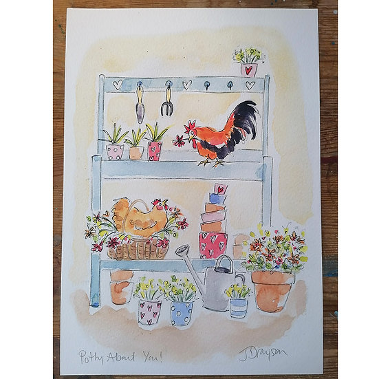 Potty About You Print