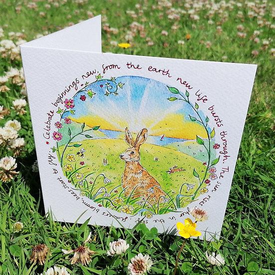 'New Beginnings' card