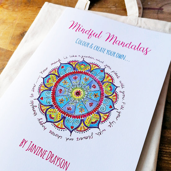 Colour & Create Mandala Book (No Kit)