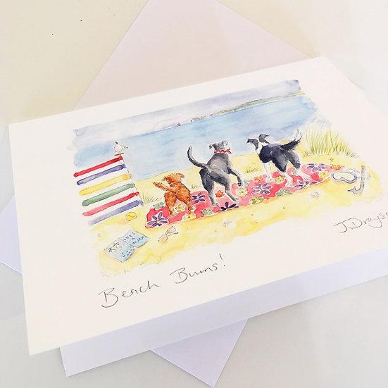 Beach Bums Card