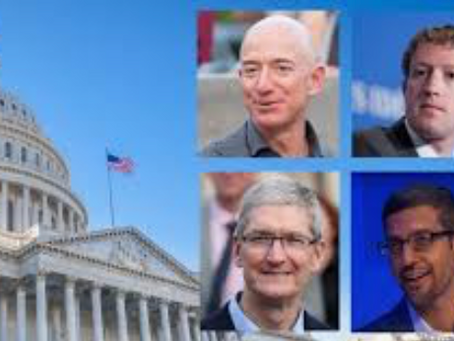 Tech CEOs Address House Panel-No Change Expected.  The Bigs Are Gatekeepers but Users Benefit