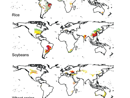 Geographic Range of Farming is Rapidly Changing with Global Warming