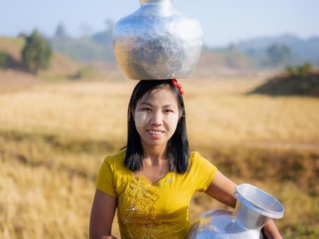 Portrait Mrauk U, Rakhine State, Myanmar