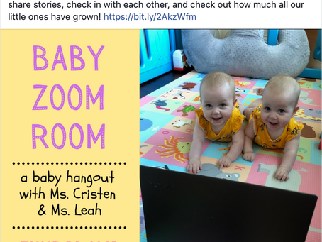 Baby Zoom Room-Thursday 10:30AM