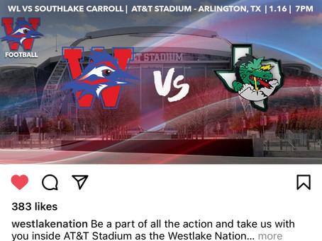 Big Game Chaps Vs Southlake Carroll 7PM View on Fox Sports Southwest