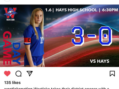 Lady Chap Soccer 3-0 Over Hays