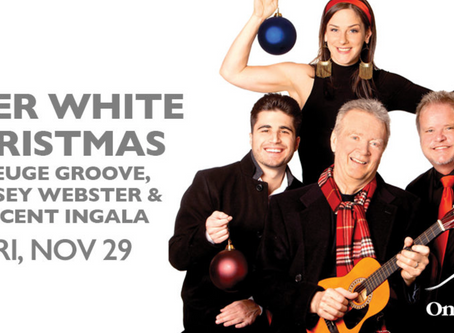 Peter White Christmas At One World Theatre-Tonight Two Shows