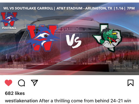 Chaps 6A Division 1 State Championship Westlake Vs Southlake Carrol at AT&T