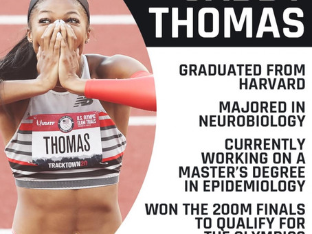 Gabby Thomas 200 M Gold in Olympic Qualifying Final