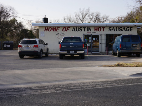 HOME OF AUSTIN HOT SAUSAGE