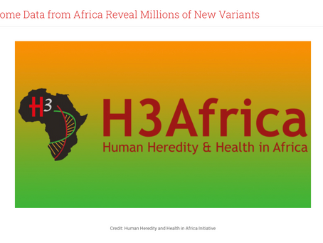 Reversing Genomic Colonialism in Africa
