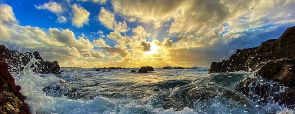 Sunset Between Storms