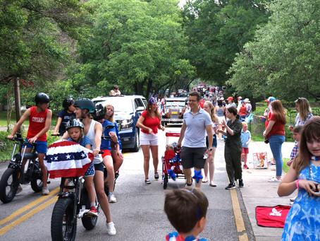 Westlake Hills Parade July 4th 2021