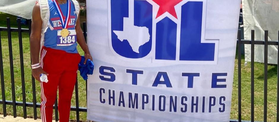 Ashton Torns Texas Long Jump Champ