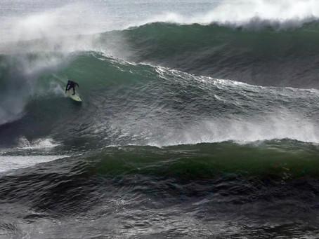 Steamer's Lane Big Wave Time