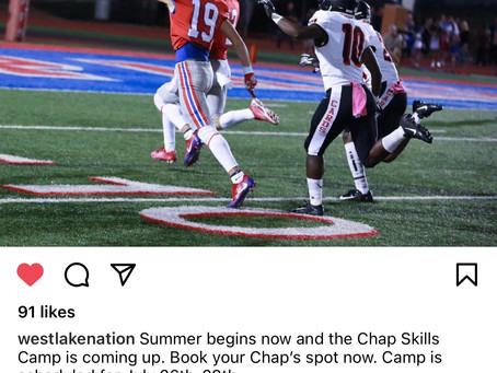 Chap Football Skills Camp-Sign Up Now