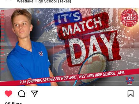 Westlake Tennis Hosts Dripping Springs