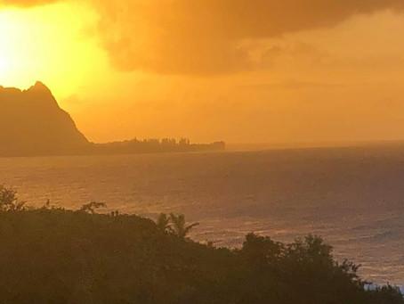 Sunset Kauai
