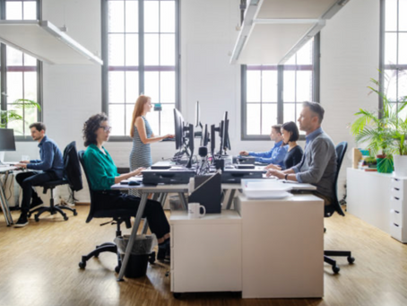 Open Office Design-Inspired by Ideas but Now Seems Rooted in Cost-Savings
