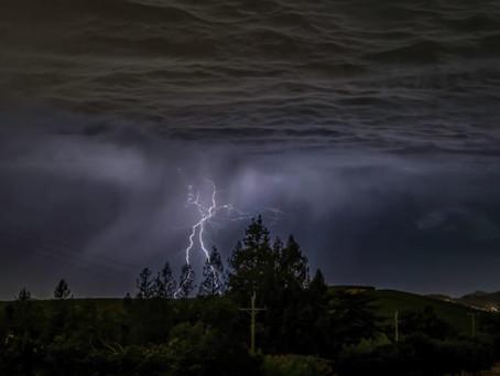 Napa Valley-Lightning !!!